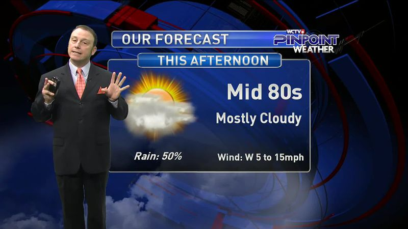 Meteorologist Rob Nucatola gives you the forecast for Thursday, Sept. 17, 2020.