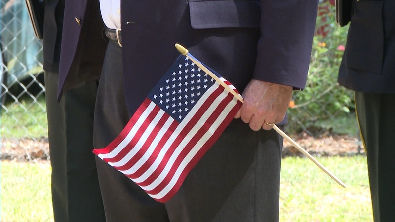 Monday morning, the VFW hosted a Memorial Day service and laid flags at each grave site at the...