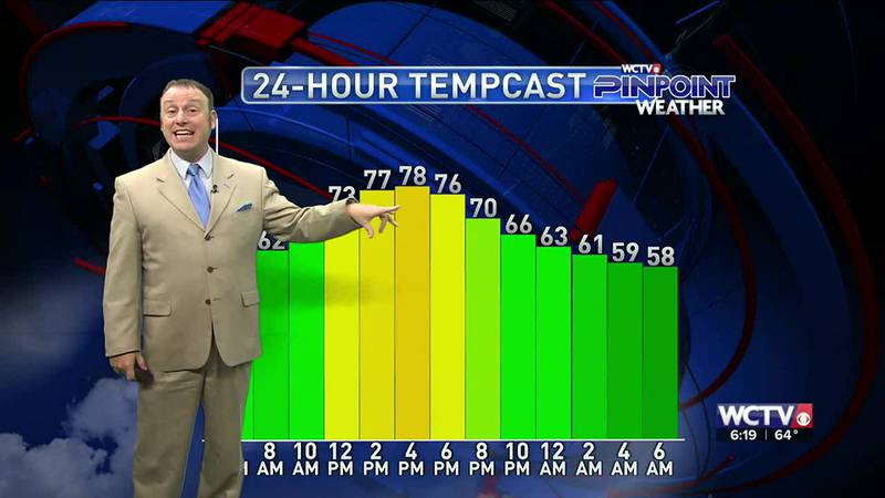 Meteorologist Rob Nucatola gives you the forecast for Thursday, Sept. 23, 2021.