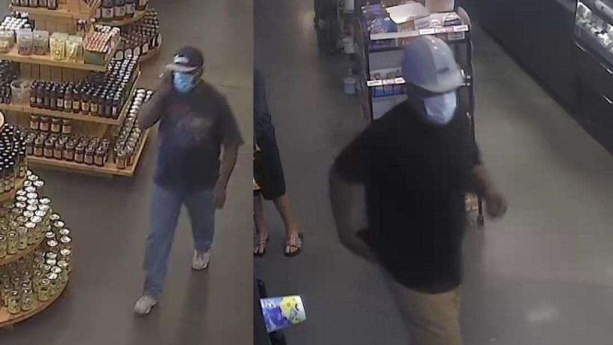 Deputies say on Sunday, these men burglarized the Busy Bee store on US 129 North at I-10. (Photos: Suwanee County Sheriff's Office)