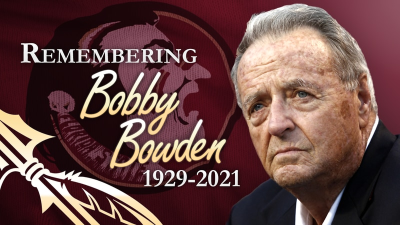 Bobby Bowden died Sunday morning after a battle with pancreatic cancer, according to FSU. He...