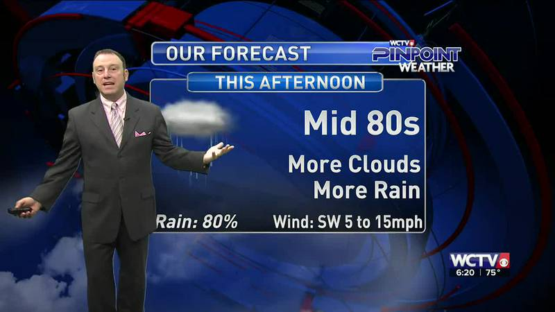 Meteorologist Rob Nucatola gives you the forecast for Wednesday, Sept. 8, 2021.