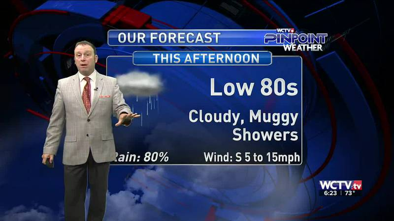 Meteorologist Rob Nucatola gives you the forecast for Thursday, Sept. 16, 2021.