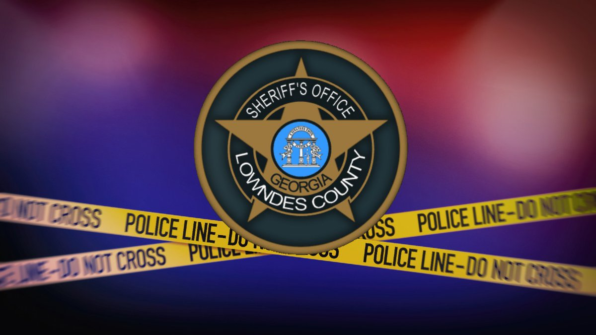 Lowndes County Sheriff's Office (LCSO) logo and crime scene tape