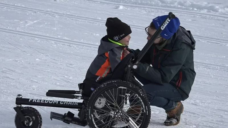 The family received a grant through the Challenged Athletes Foundation of Idaho, which has a...
