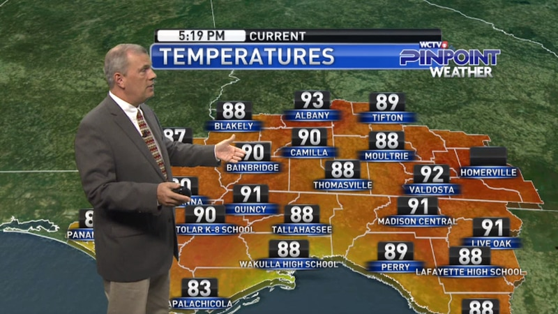 Chief Meteorologist Mike McCall takes a look at the forecast for your evening of Thursday, May...