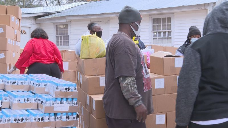 Second Harvest Food Distribution