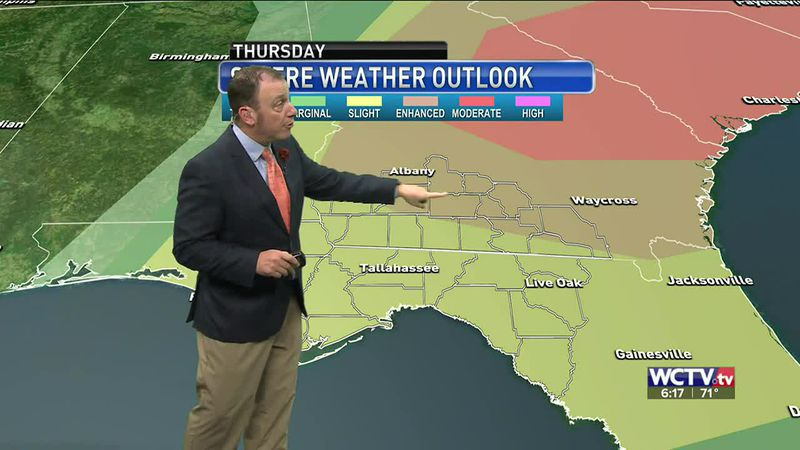 Meteorologist Rob Nucatola gives you the forecast for Wednesday, March 17, 2021.