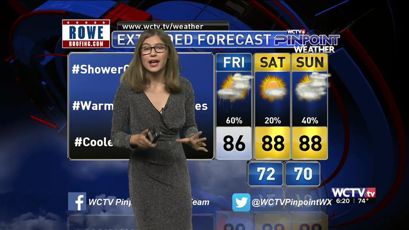 Meteorologist Hannah Messier gives you the forecast for Friday, Sept. 25, 2020.
