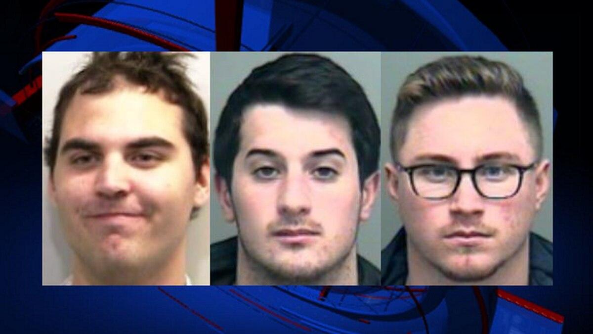From left to right: Luke Kluttz, Anthony Petagine, Anthony Oppenheimer