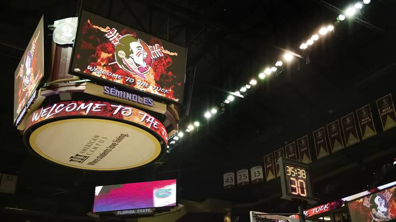 Florida State plays Florida at the Donald L. Tucker Center on Saturday, December 12.