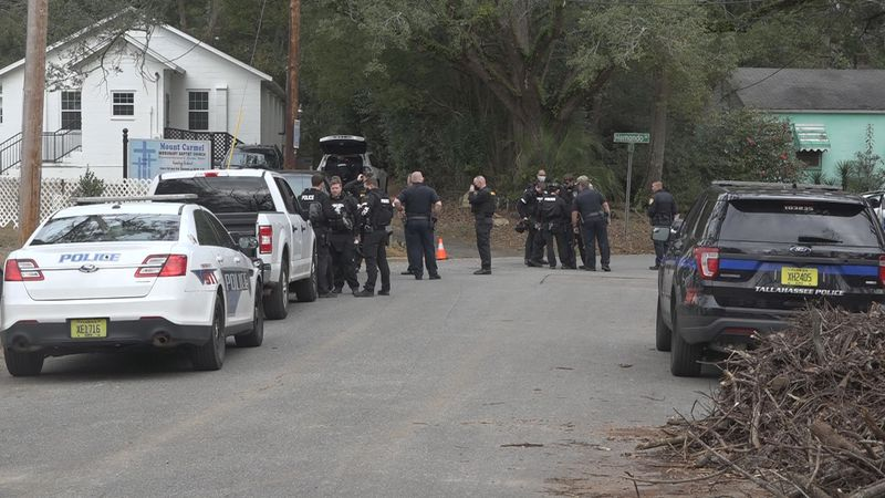 TPD'S TAC Team comes together to handle barricade situation on Elberta Drive.