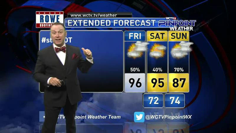 Meteorologist Rob Nucatola Gives you the forecast for Friday, August 13, 2021.