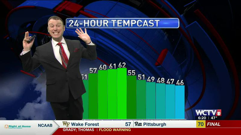 Rob's Wednesday Morning Forecast: March 3, 2021