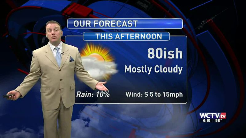 Meteorologist Rob Nucatola gives you the forecast for Wednesday, March 24, 2021.