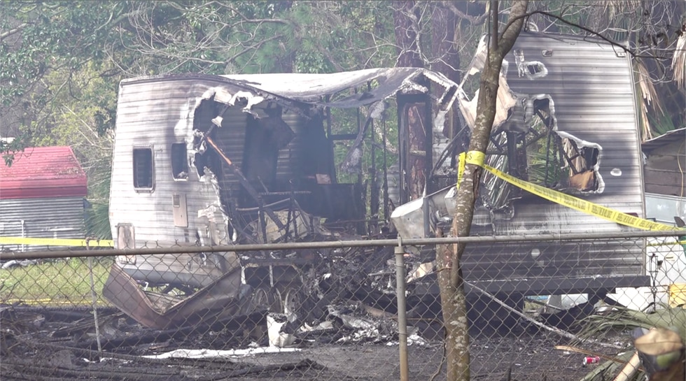 The Franklin County Sheriff's Office says no one was hurt in the fire, but it could have been...