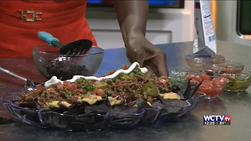 Chef Ashely Douglas showed off this tasty nacho recipe on the WCTV set!