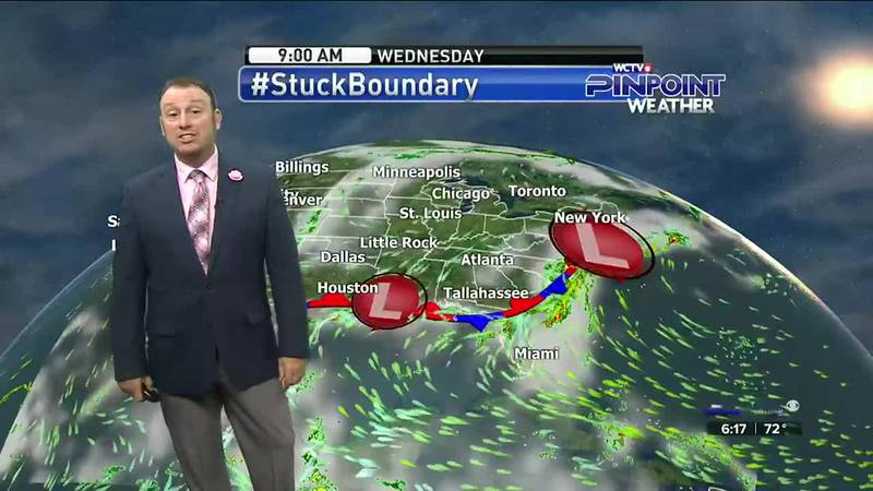 Meteorologist Rob Nucatola gives you the forecast for Wednesday, August 4, 2021.