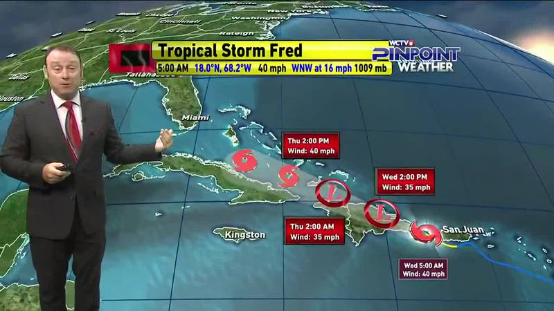 Meteorologist Rob Nucatola gives you the forecast for Wednesday, August 11, 2021.