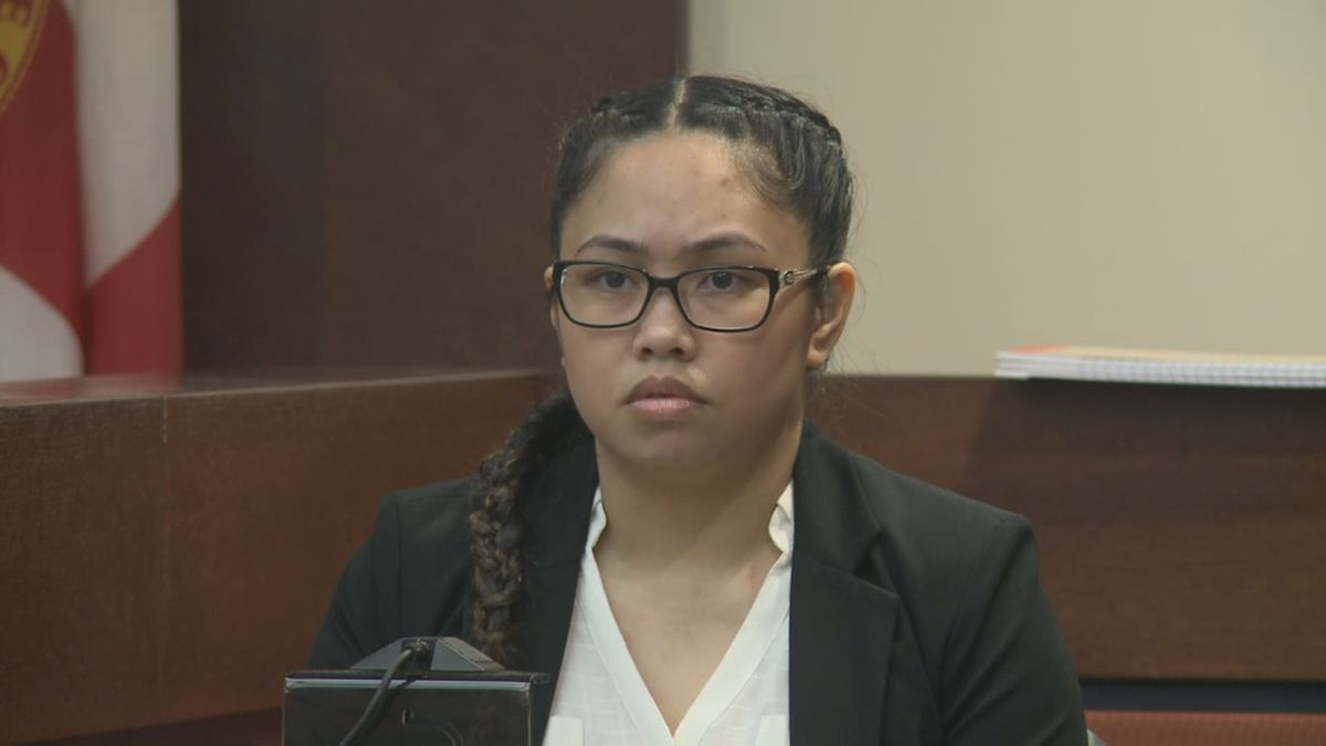 Katherine Magbanua was the first witness called to the stand Wednesday morning.