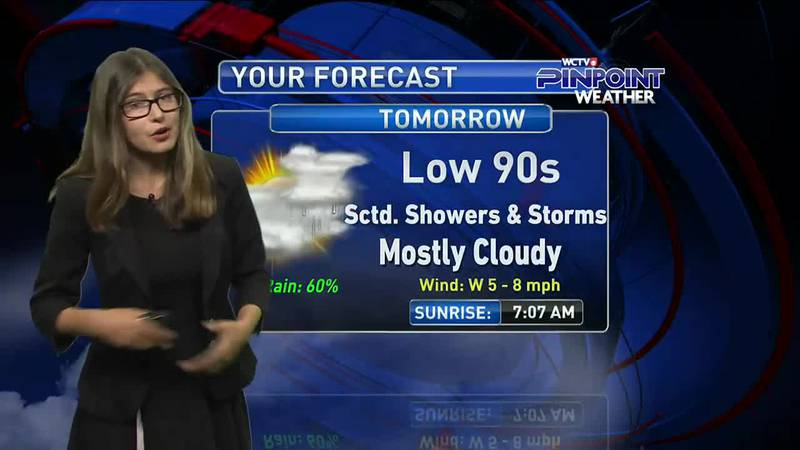 Meteorologist Hannah Messier gives you the forecast for Friday, August 20, 2021.