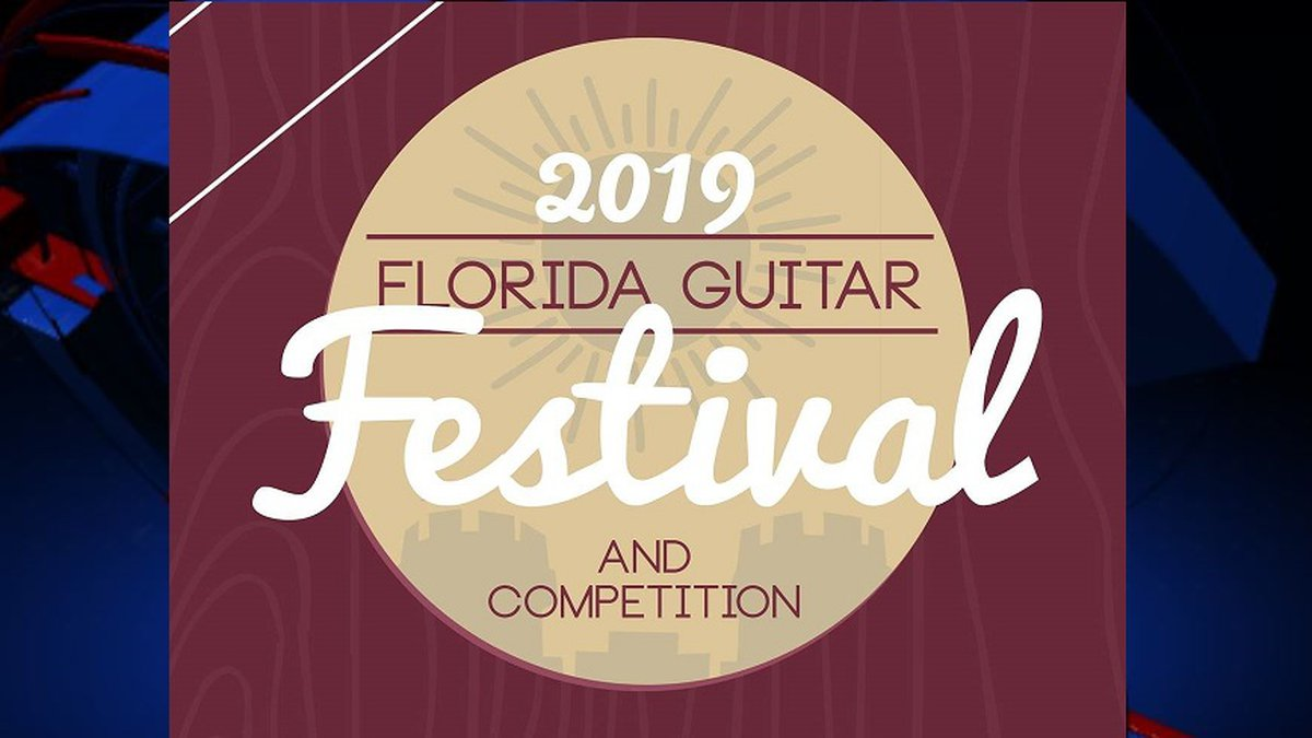 The 2019 Florida Guitar Festival is coming to Tallahassee from October 11 through October 13.