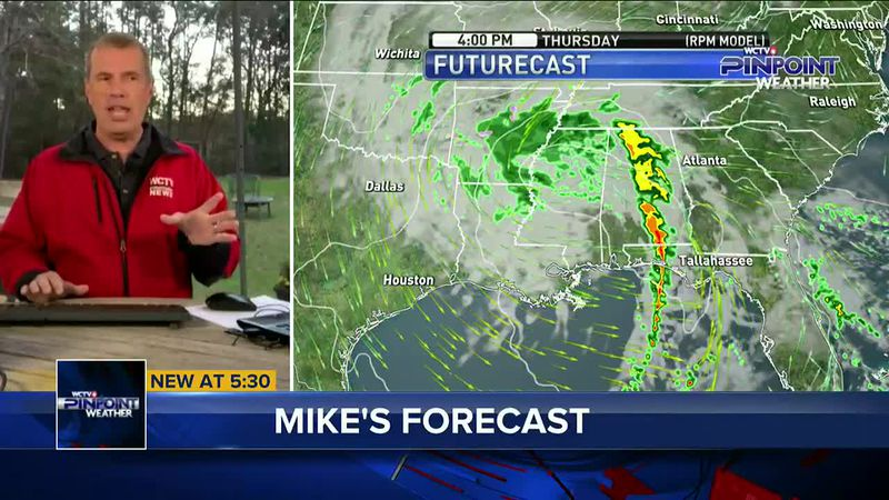 Chief Meteorologist Mike McCall has your forecast, including the details on rain chances for...