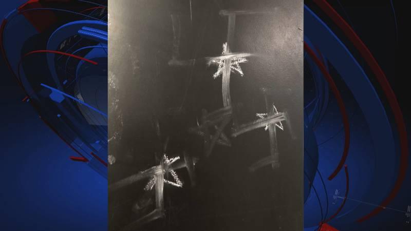 Disturbing anti-Semitic graffiti was scrawled on an FSU student's apartment door.