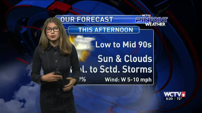 Meteorologist Hannah Messier gives you the forecast for Wednesday, June 16, 2021.