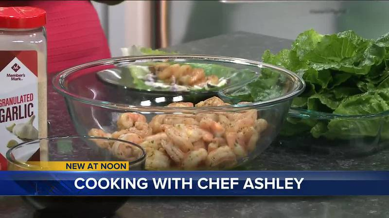 Healthy Chef Ashley joined the WCTV set to show off this Asian twist to lettuce wraps!