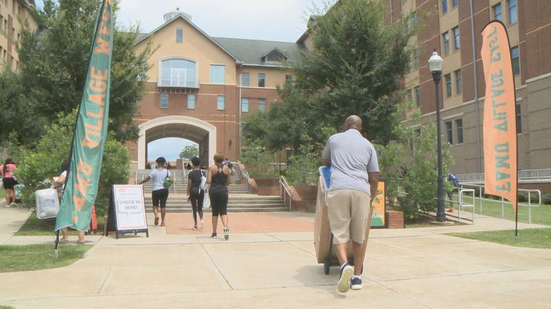 Friday marked the first day students can move into their dorms at Florida A&M University for...