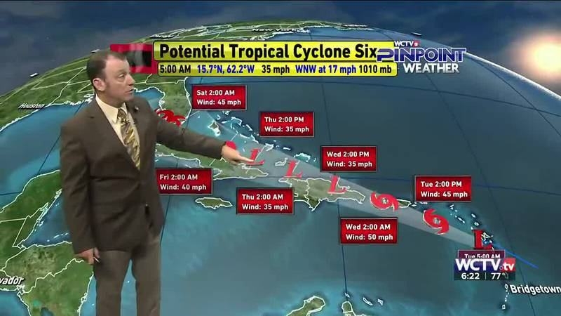 Meteorologist Rob Nucatola gives you the forecast for Tuesday, August 10, 2021.