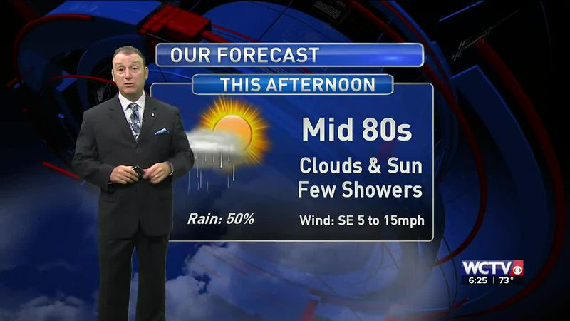 Meteorologist Rob Nucatola gives you the forecast for Wednesday, Oct. 28, 2020.
