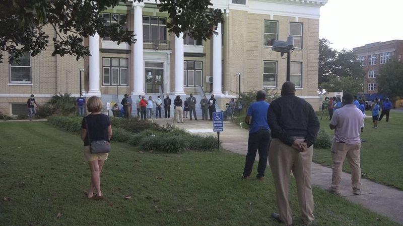 Dozens gather for Prayer in the Square in Gadsden County