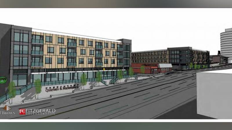 More affordable housing and retail space is coming to Frenchtown through the development; the...