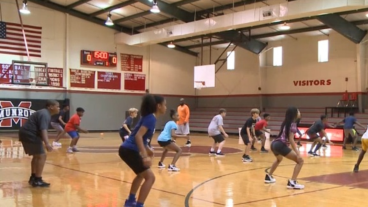 The Innovator COED Basketball Summer Camp just completed day three of a five-day camp.