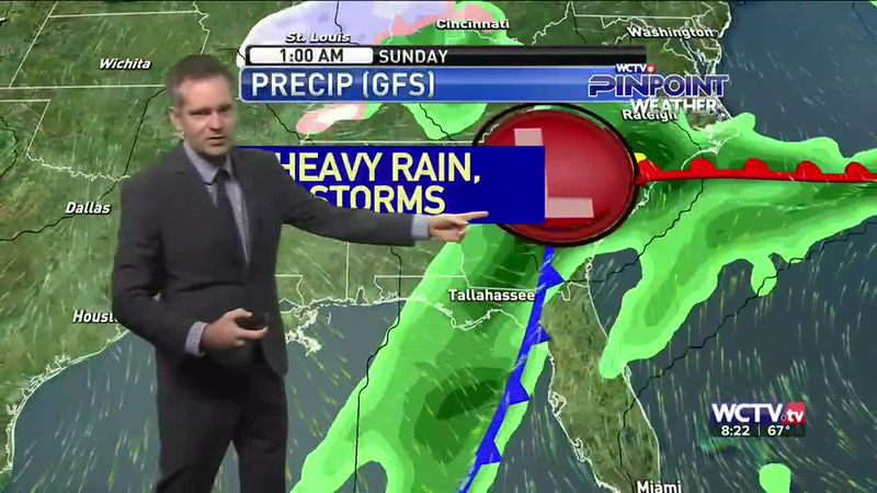 Some woke up to rain and thunder Saturday morning, but more is expected during the day....