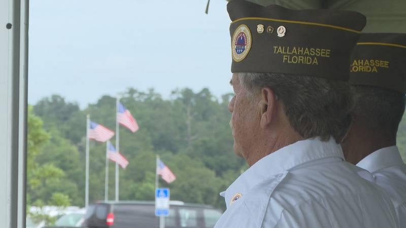 On Thursday, AMVET Post 1776 dedicated the newly completed bell tower to the cemetery amongst...