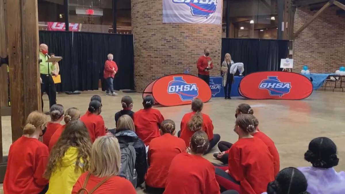 The Georgia High School Association recognized competitive dance as a sport for the first time...