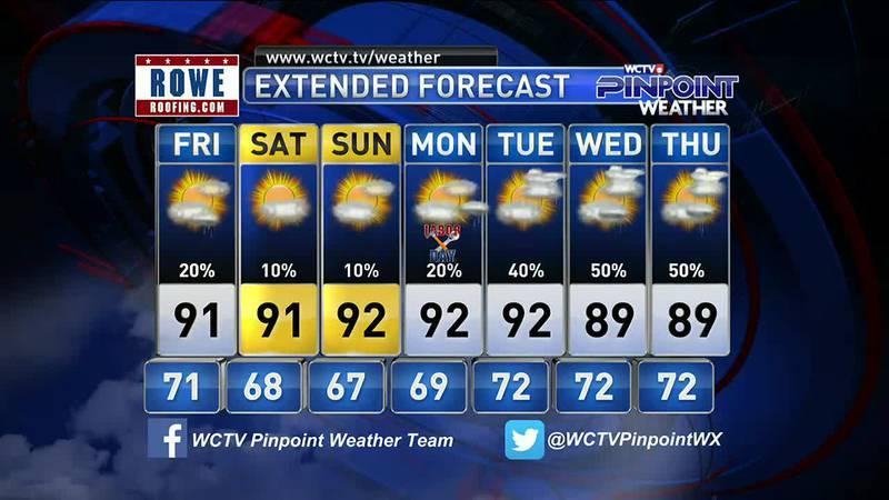 Mike's Thursday Evening Forecast: September 2, 2021