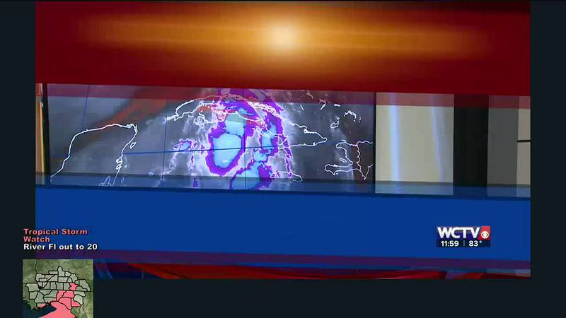 Pinpoint Weather Update - Tropical Storm Elsa - Noon Monday