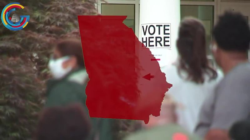 Georgia voters are showing up at the polls in droves as early voting shatters previous records.