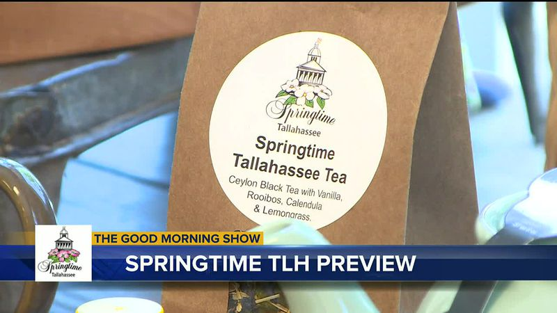 Prepared Table Co-Owner Robin O'Donnell created a new tea specifically for Springtime...