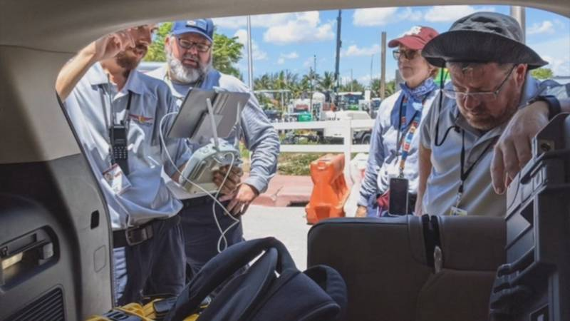 Florida State University sent its drone team to Surfside to assist with recovery efforts after...