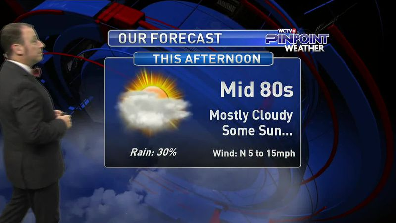 Meteorologist Rob Nucatola gives you the forecast for Friday, Sept. 18, 2020.