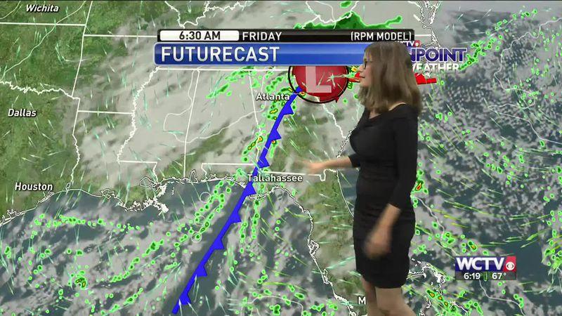 Meteorologist Hannah Messier gives you the forecast for Thursday, Sept. 24, 2020.