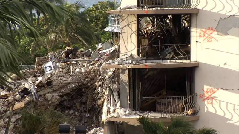 Crews continue to search for survivors five days removed from a condo collapse in Surfside.