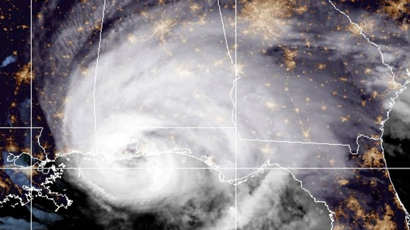 Hurricane Sally made landfall Wednesday morning near Gulf Shores, Ala.
