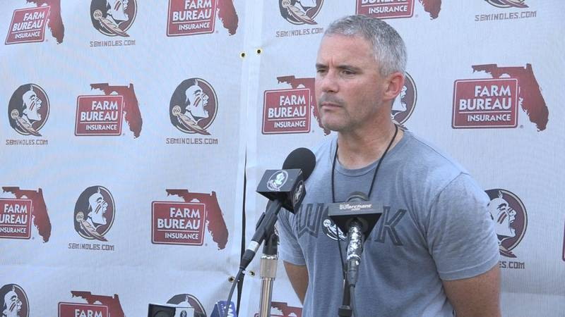 The Florida State University football coaching team spoke on the passing of legendary football...