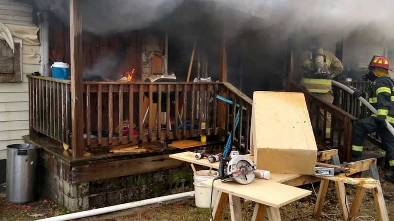 The Valdosta Fire Department is currently on scene at an active home fire on Lamar Street in...